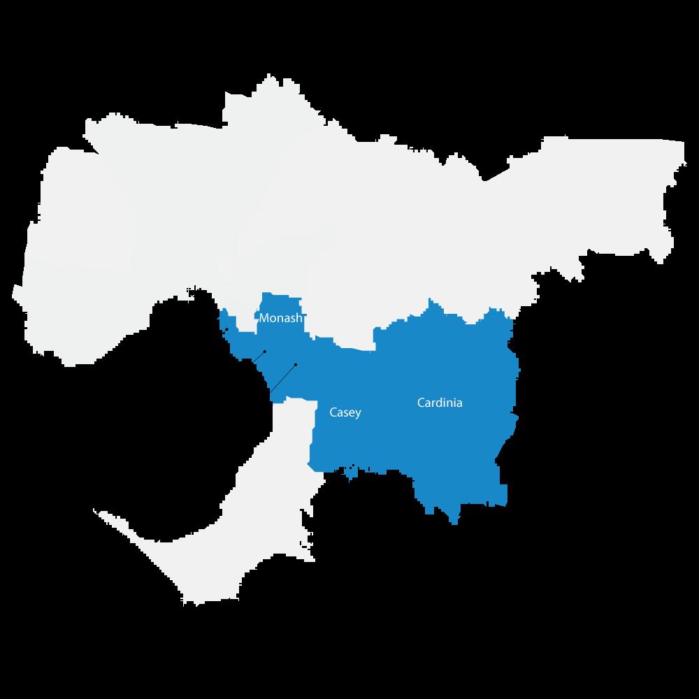 Areas we serve